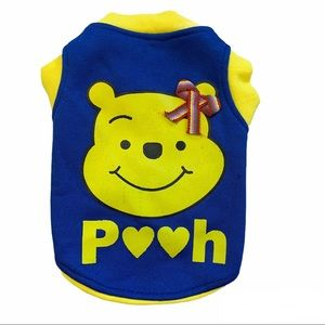 Small dog toy breed Winnie the Pooh top